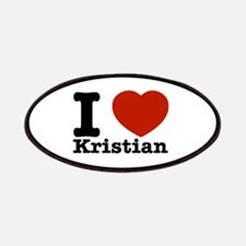 I Love Kristian Patches