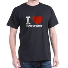 I Love Kristopher T-Shirt