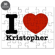 I Love Kristopher Puzzle
