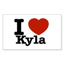 I Love Kyla Decal