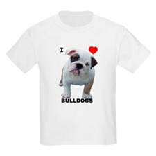 I LOV BULLDOGS... T-Shirt