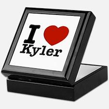 I Love Kyler Keepsake Box