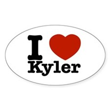 I Love Kyler Decal