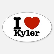 I Love Kyler Decal
