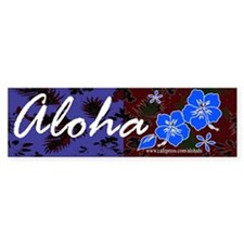 Aloha Bumper Bumper Sticker