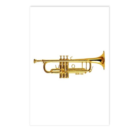 Trumpet Postcards (Package of 8)