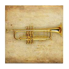 Trumpet Tile Coaster