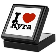 I Love Kyra Keepsake Box