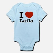 I Love Laila Infant Bodysuit