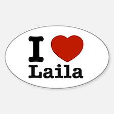 I Love Laila Decal