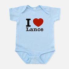 I Love Lance Infant Bodysuit
