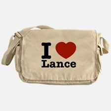 I Love Lance Messenger Bag