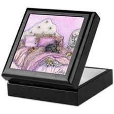 Sighthounds slumber party Keepsake Box