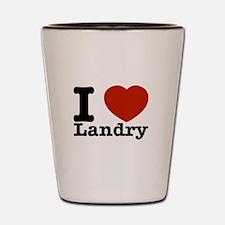 I Love Landry Shot Glass
