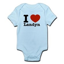 I Love Landyn Infant Bodysuit