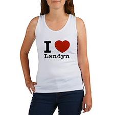 I Love Landyn Women's Tank Top