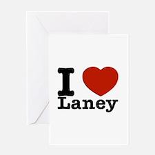 I Love Laney Greeting Card