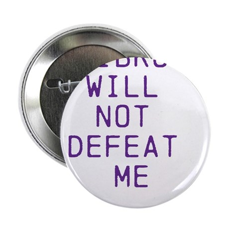 "Fibro Will Not Defeat Me 2.25"" Button"