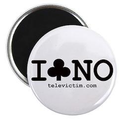 """""""I Club NO"""" Magnet"""