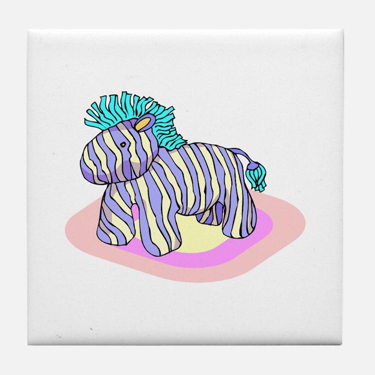 Horse Pinata Tile Coaster