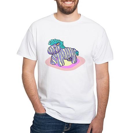 Horse Pinata White T-Shirt