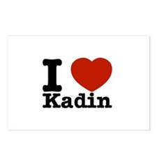 I Love Kadin Postcards (Package of 8)