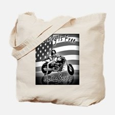 Nothing Is Free Thank A Soldier Tote Bag