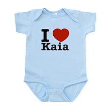 I Love Kaia Infant Bodysuit