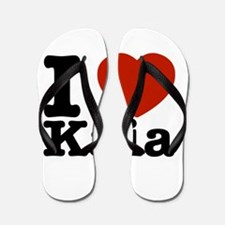 I Love Kaia Flip Flops