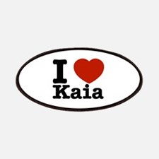 I Love Kaia Patches