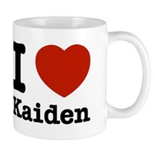 I Love Kaiden Small Mug