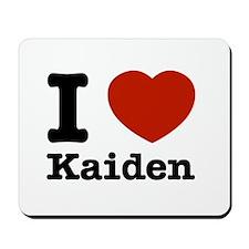 I Love Kaiden Mousepad