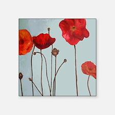 Fleurs Square Sticker 3&Quot; X 3&Quot;