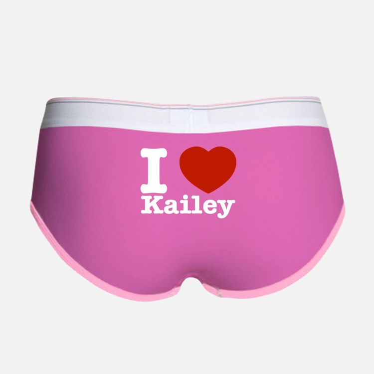 I Love Kailey Women's Boy Brief
