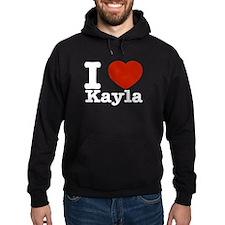 I Love Kayla Hoodie