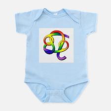 GLBT Cancer & Leo Infant Bodysuit