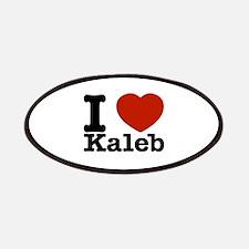 I Love Kaleb Patches