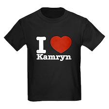 I Love Kamryn T