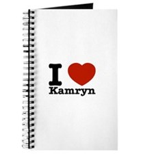 I Love Kamryn Journal