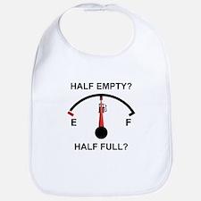 HALF EMPTY OR HALF FULL? Bib