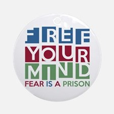 Free Your Mind Ornament (Round)