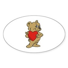 Bear Heart Decal
