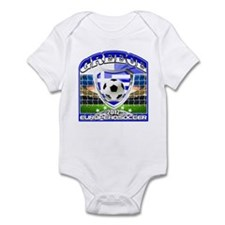 Greece European Soccer 2012 Infant Bodysuit
