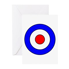 British WW1 Aircraft Insignia Greeting Cards (Pac