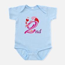 2nd Anniversary Infant Bodysuit