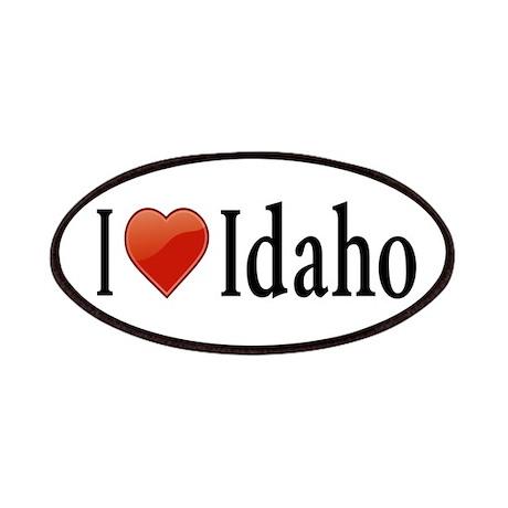 I Love Idaho Patches
