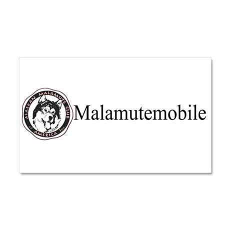 AMCA logo and malamutemobile car magnet