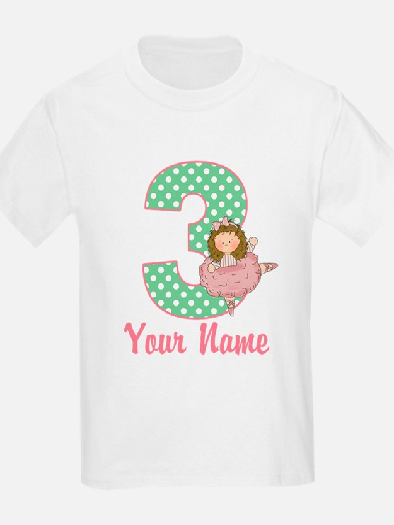 3rd Birthday Ballet T-Shirt