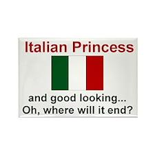 "Good Looking Italian Princess Magnet (3""x2"")"