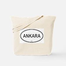 Ankara, Turkey euro Tote Bag